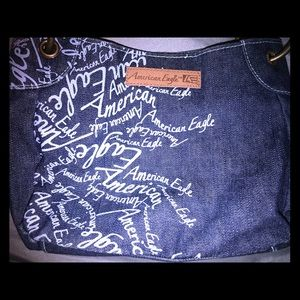 American Eagle Jean Purse With Back Pockets